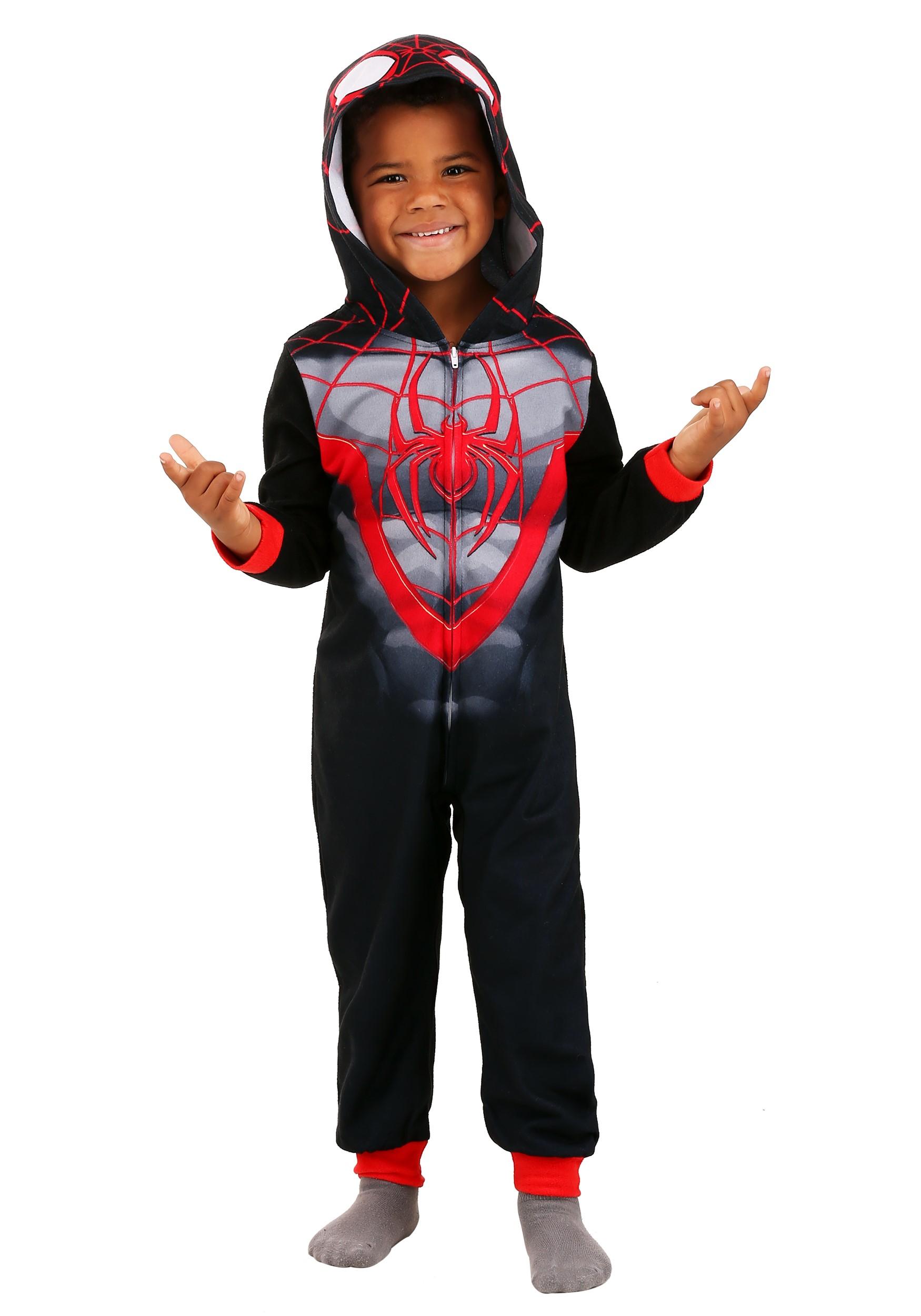 Spider-Man Miles Morales Blanket Sleeper