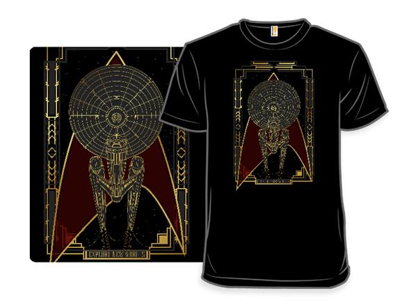 Explore New Worlds T Shirt