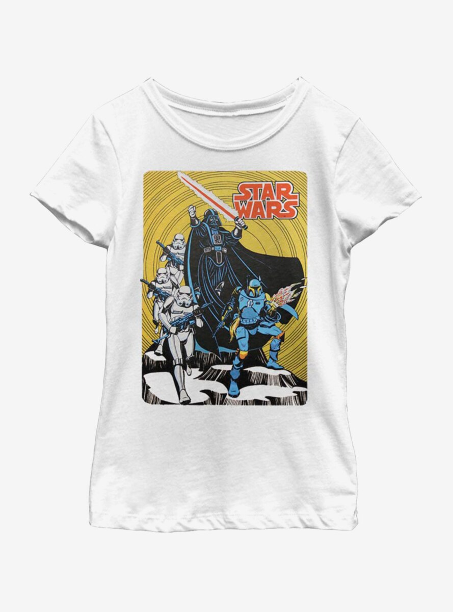 Star Wars Vintage Cover Youth Girls T-Shirt