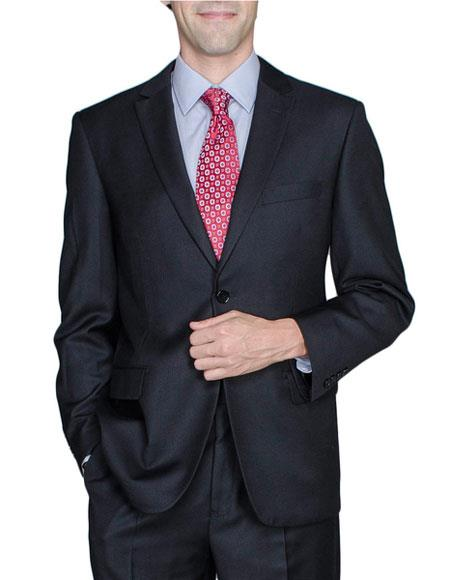 Men's Two Buttons Wool and Silk Blend Giorgio Fiorelli Brand suits