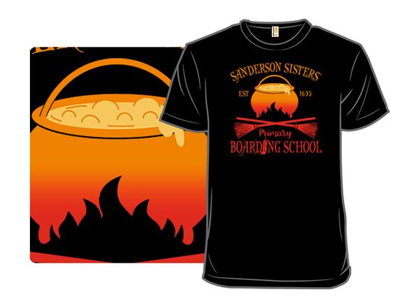 Sanderson Sister's Boarding School T Shirt