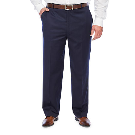 Stafford Super Mens Regular Fit Suit Pants - Big and Tall, 42 34, Blue
