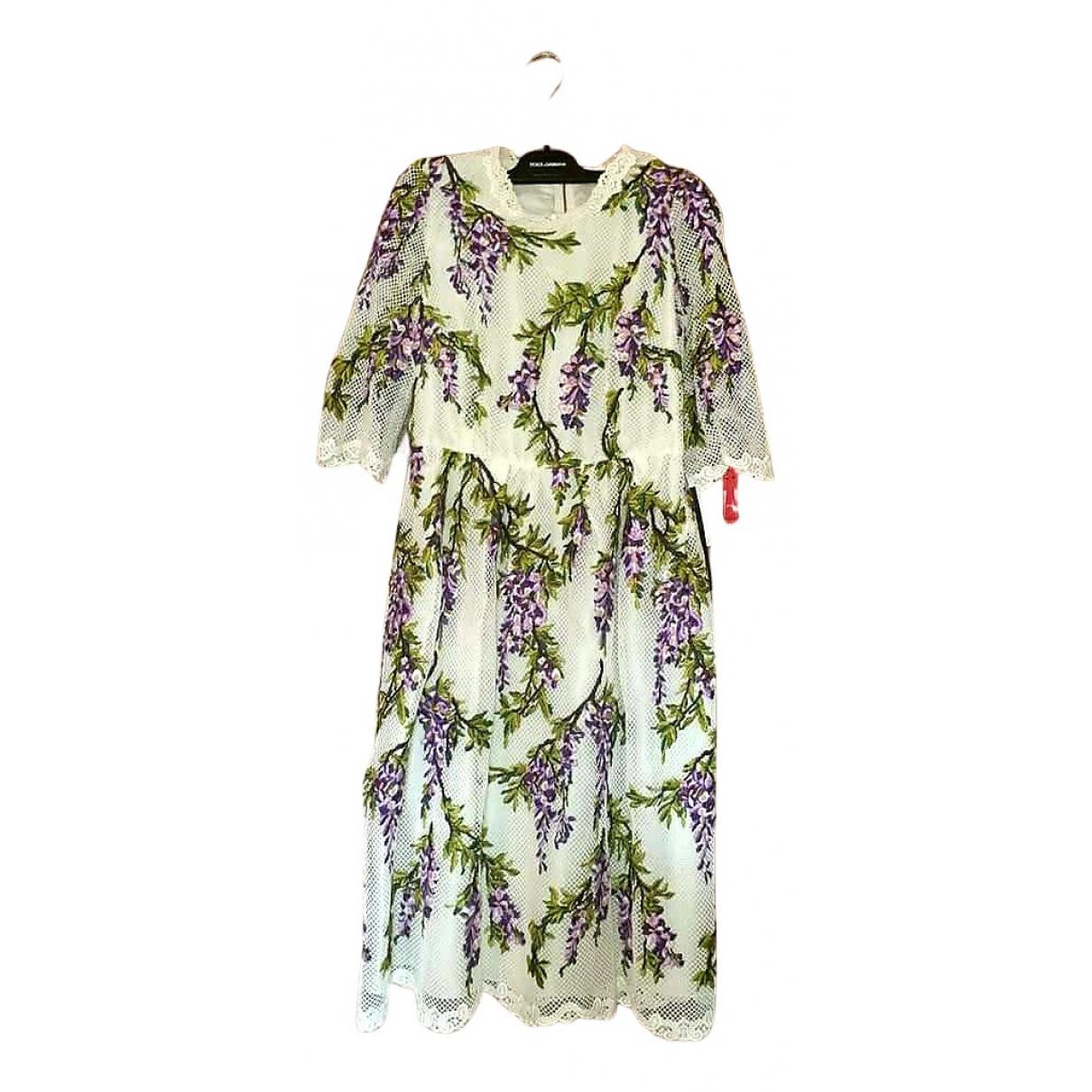 Dolce & Gabbana \N Black Cotton dress for Women 38 IT