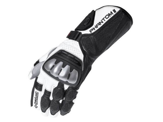 Held Phantom II Guantes Negro Blanco 12