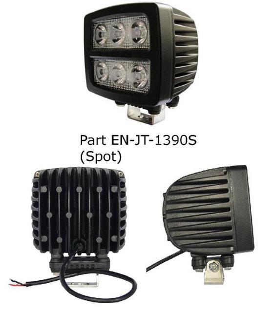 Engo EN-JT-1390S Work Light 90 Watt Led (Cob) Square Spot Pattern