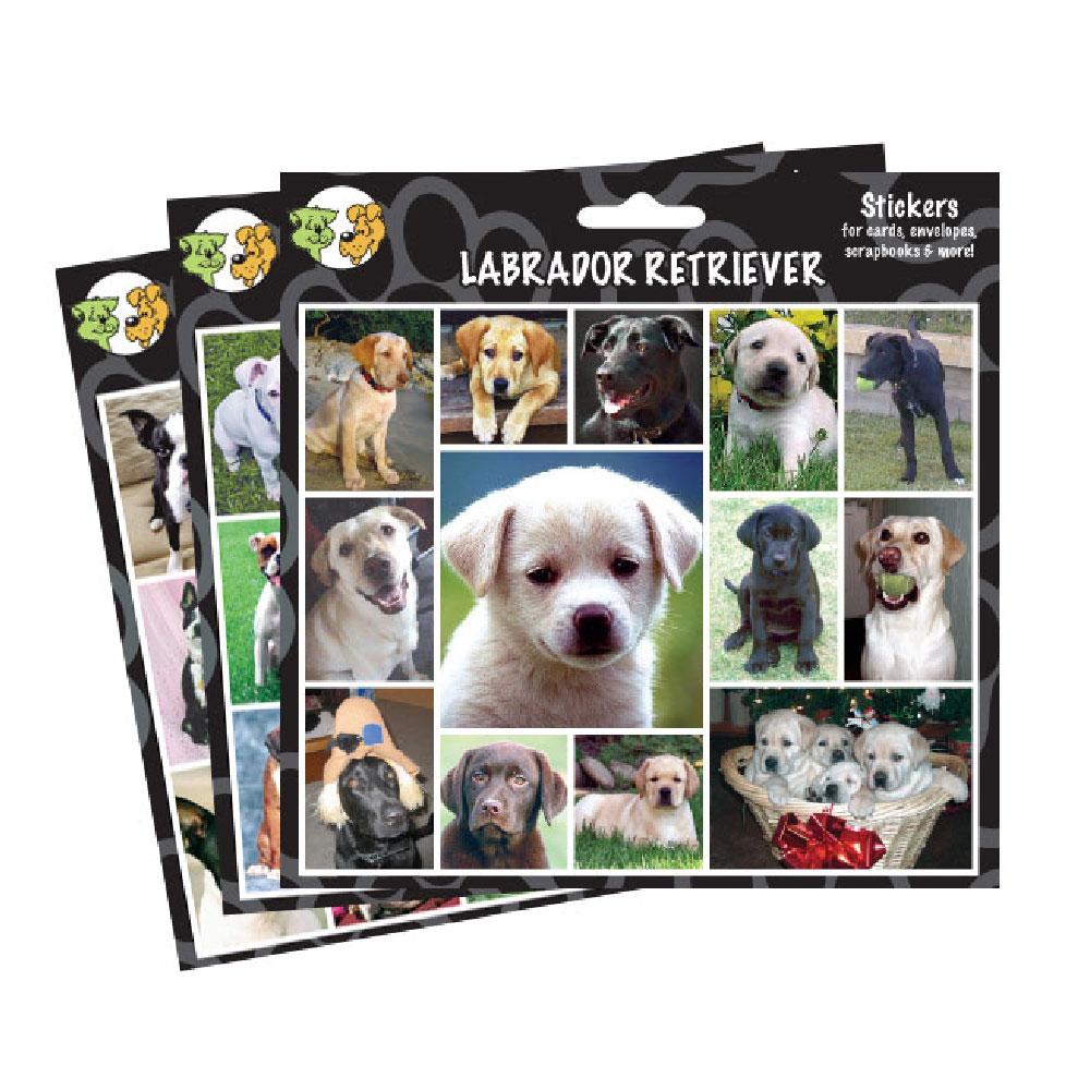 Arf Art Stickers - English Bulldog