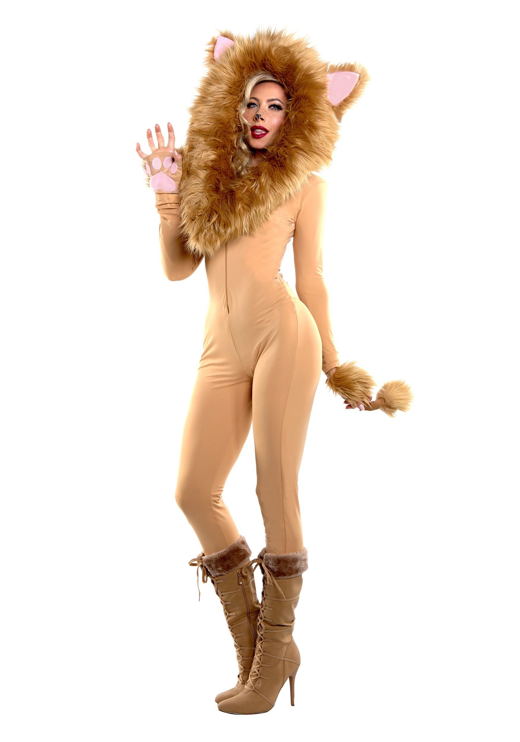 Hooded Lion Costume