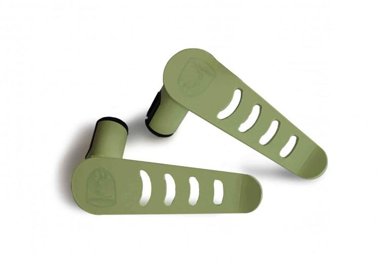 Steinjager J0041286 Foot Rest Kit Wrangler JK 2007-2018 Metal Design Locas Green