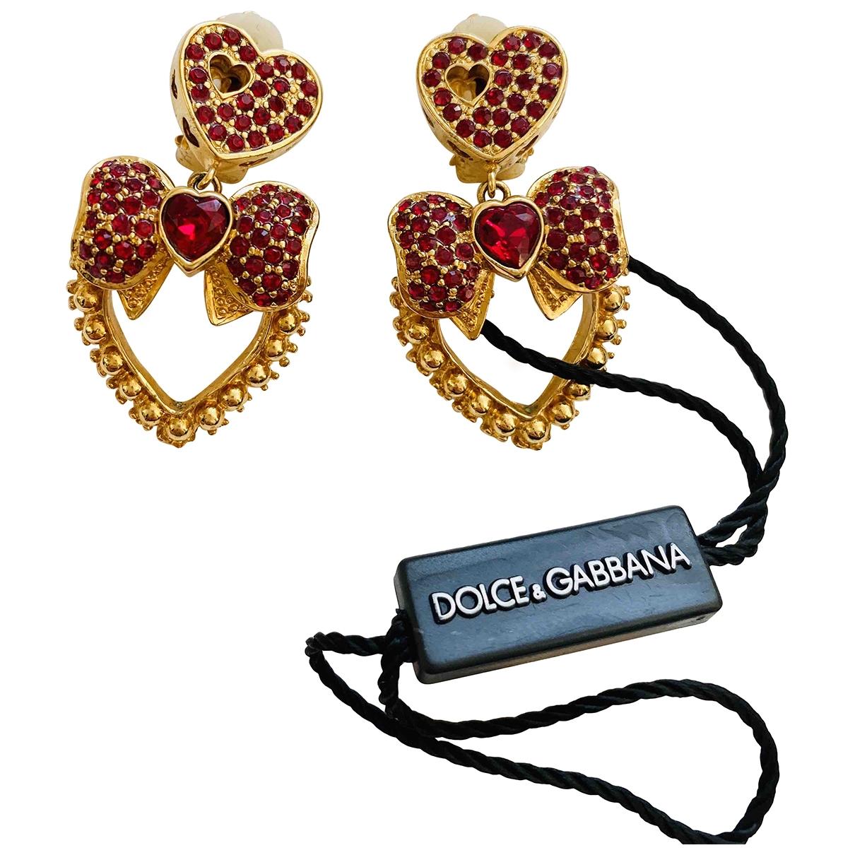 Dolce & Gabbana \N Red Crystal Earrings for Women \N