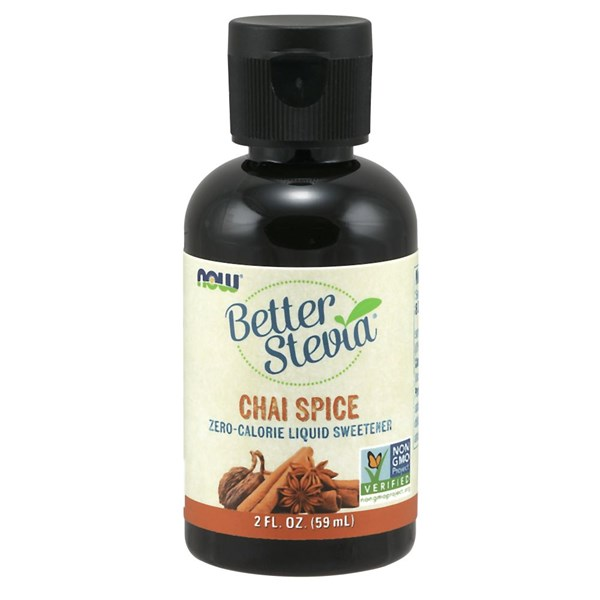 BetterStevia Chai Spice 2 Oz by Now Foods