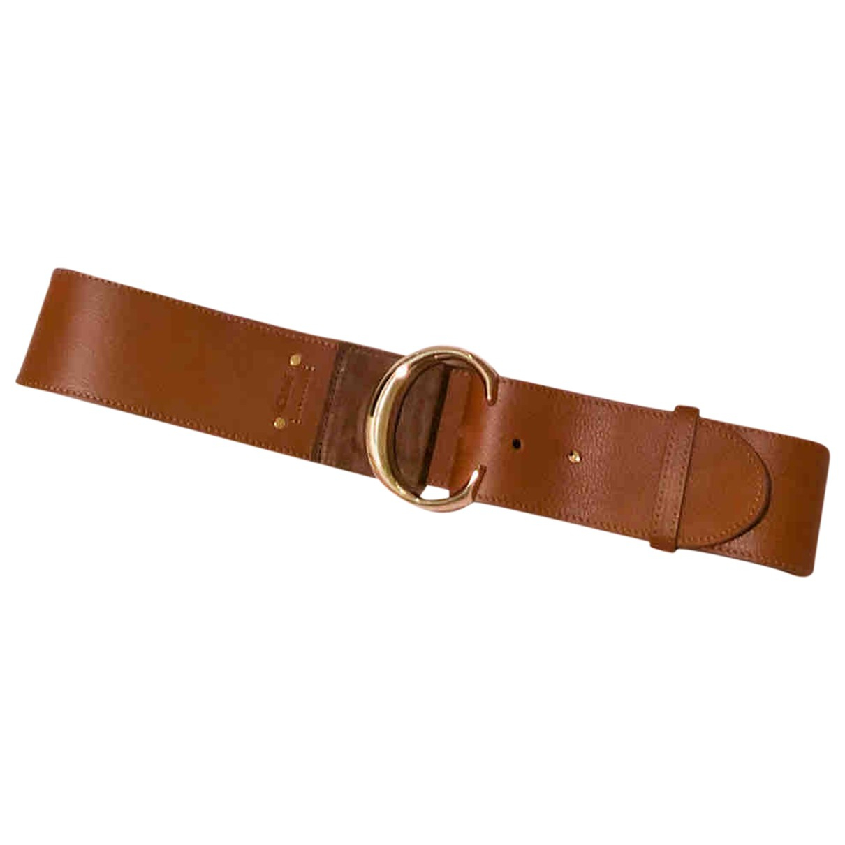 Chloé \N Brown Leather belt for Women S International