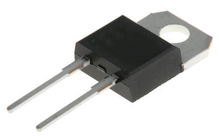 ON Semiconductor ON Semi 650V 10A, SiC Schottky Diode, 2-Pin TO-220F FFSPF1065A (50)