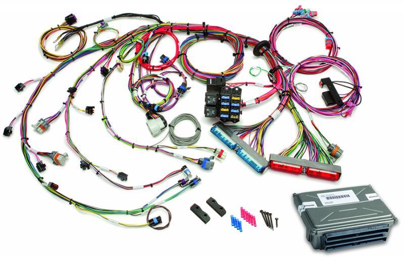 Painless Wiring 60714 1999-2006 GM Gen III 4.8-6.0L EFI Harness - Mech TB (60217 w/ VATS Removed ECM)