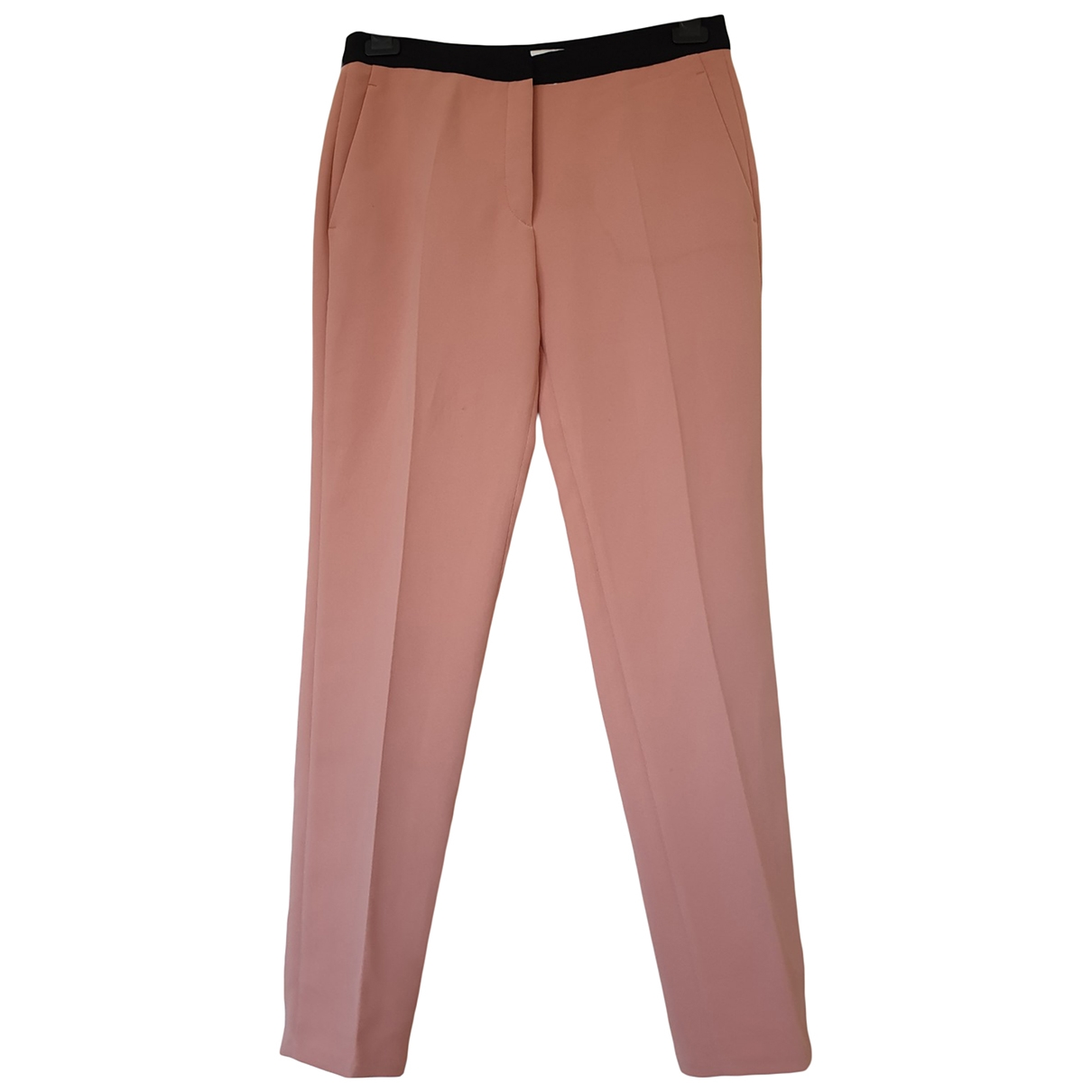 Sandro \N Pink Trousers for Women 36 FR