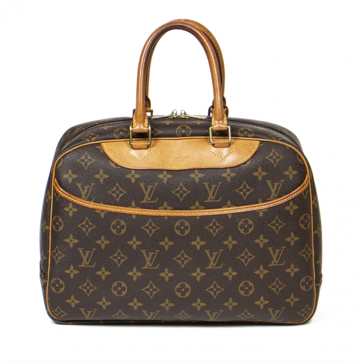 Louis Vuitton Deauville Brown Cloth handbag for Women \N