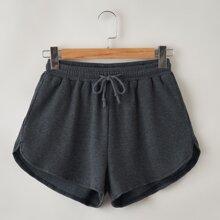 Drawstring Dolphin Shorts