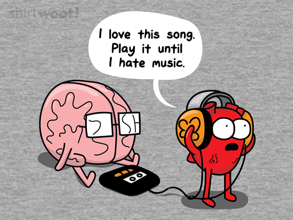 I Love This Song... T Shirt
