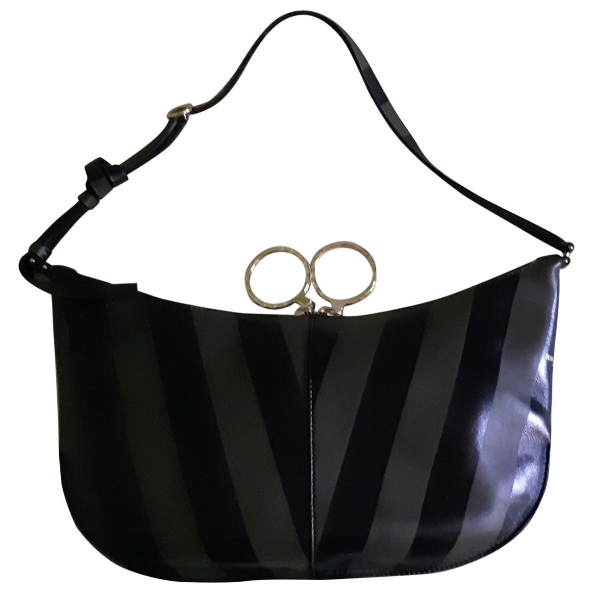 Nina Ricci \N Khaki Leather handbag for Women \N