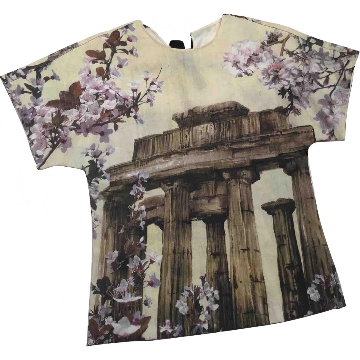 Dolce & Gabbana \N Ecru Silk  top for Women 38 IT