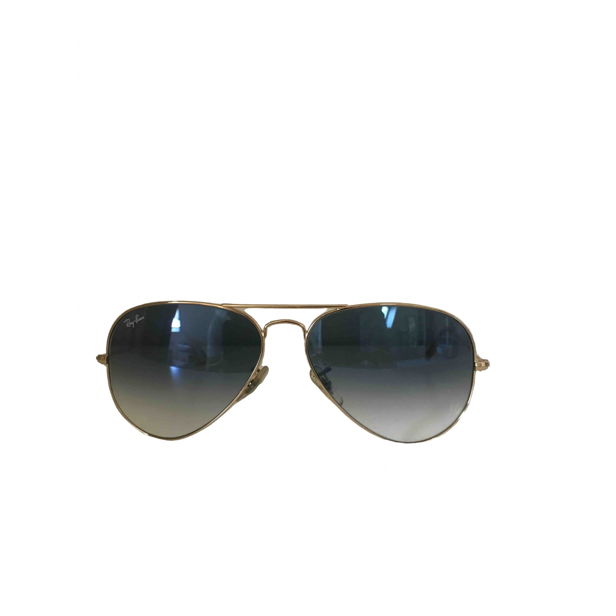 Ray-ban Aviator Blue Metal Sunglasses for Women \N