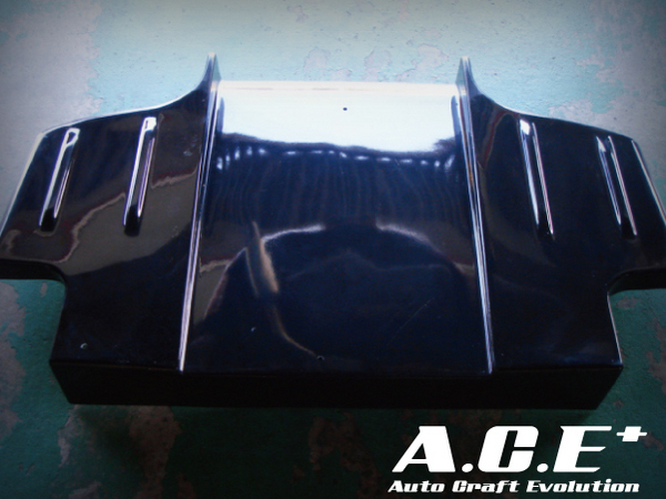 Auto Craft ACT40121342B03 Rear Under   Diffuser 03 Type B - Carbon Mazda RX-7 FD3S 93-02