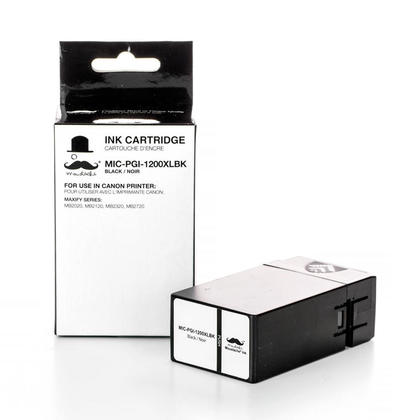 Compatible Canon MAXIFY MB2120 Black Pigment Ink Cartridge by Moustache, High Yield