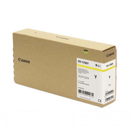 Canon PFI-1700 0778C001AA cartouche d'encre originale jaune pigment