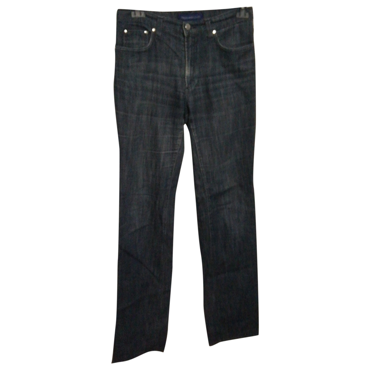 Trussardi Jeans \N Blue Cotton - elasthane Jeans for Women 28 US