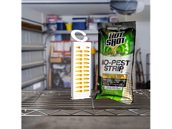 Hot Shot Pest Strip, Pack Of 12