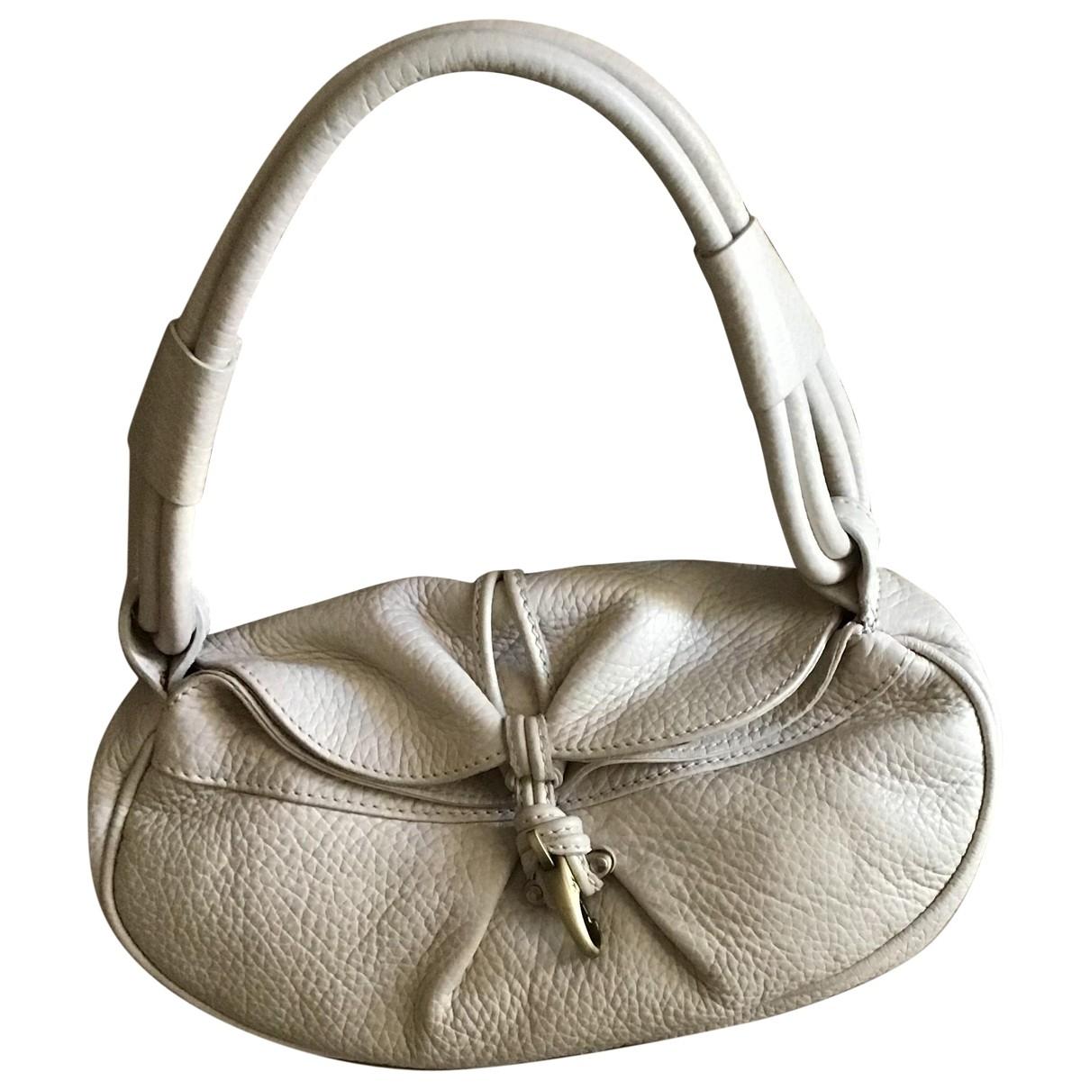Fay \N Beige Leather handbag for Women \N