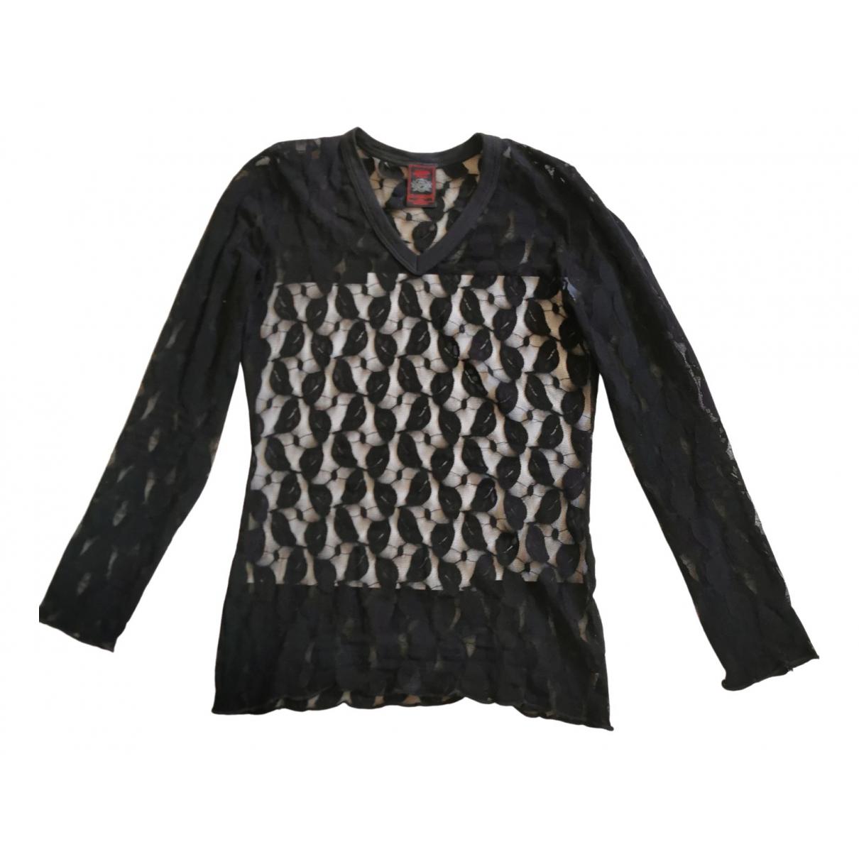 Jean Paul Gaultier \N Black  top for Women 36 FR