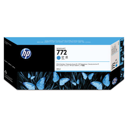 HP 772 CN636A Original Cyan Ink Cartridge Extra High Yield