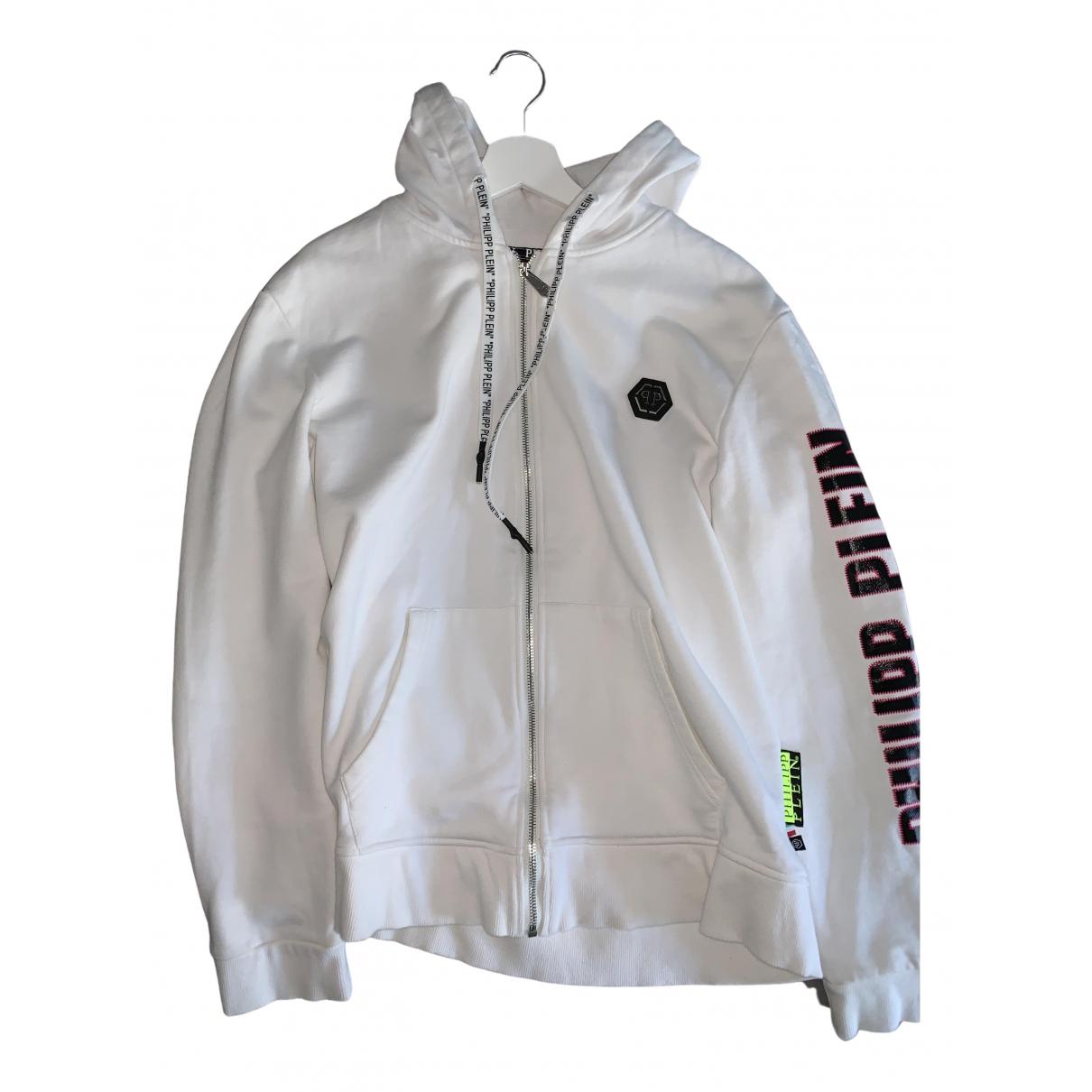 Philipp Plein \N White Cotton Knitwear & Sweatshirts for Men L International