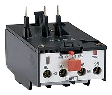 Lovato Thermal Overload Relay - NO/NC (Auxiliary), 2.2 kW, 690 V ac, 3P