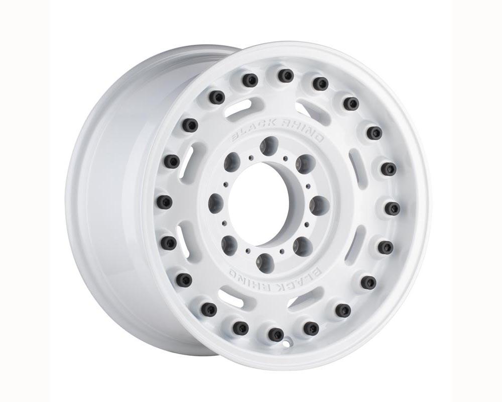 Black Rhino Axle Wheel 20x9.5 6x139.70 -18 Gloss White