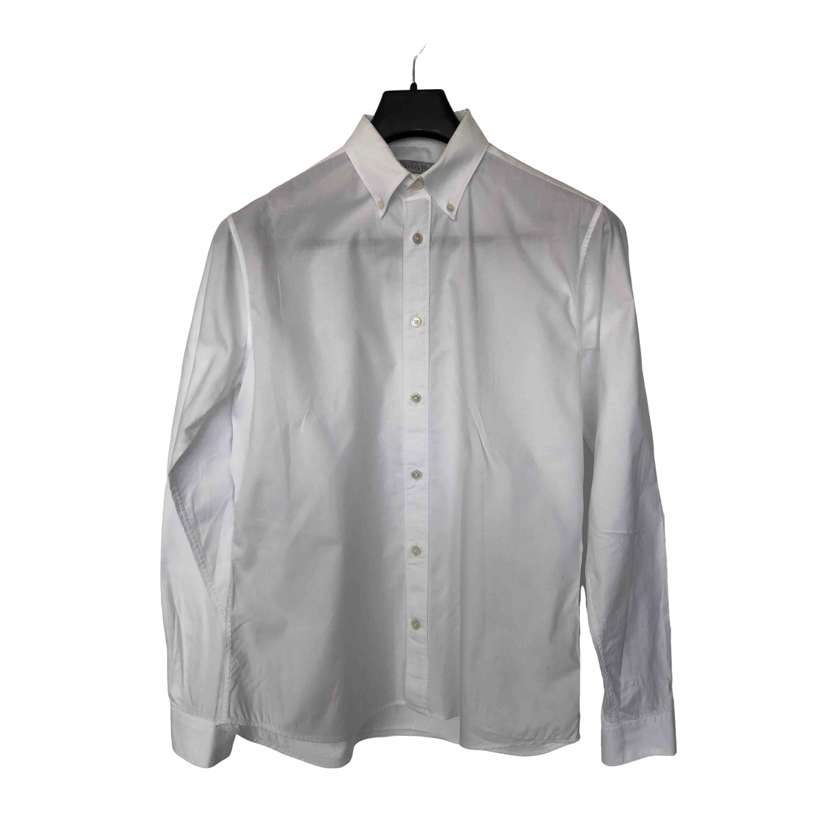 Gieves & Hawkes \N White Cotton Shirts for Men S International