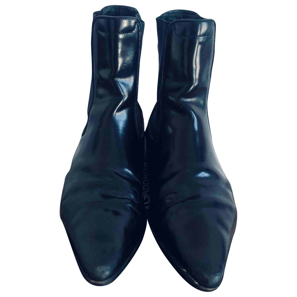Dsquared2 \N Black Leather Boots for Men 41 EU