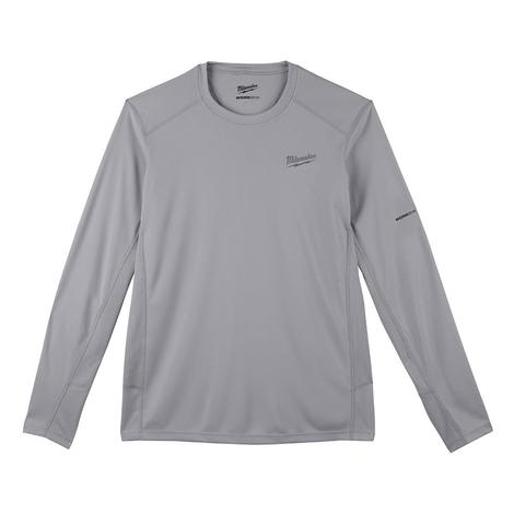 Milwaukee Workskin™ Lightweight Performance Shirt - Long Sleeve - Gray 2X
