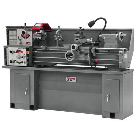Jet Ghb-1340A-Tak, Lathe with Taper Attachment Installed