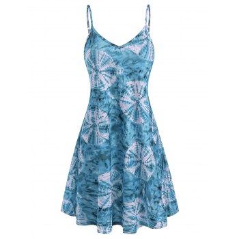 Tie Dye Cami Tunic Dress