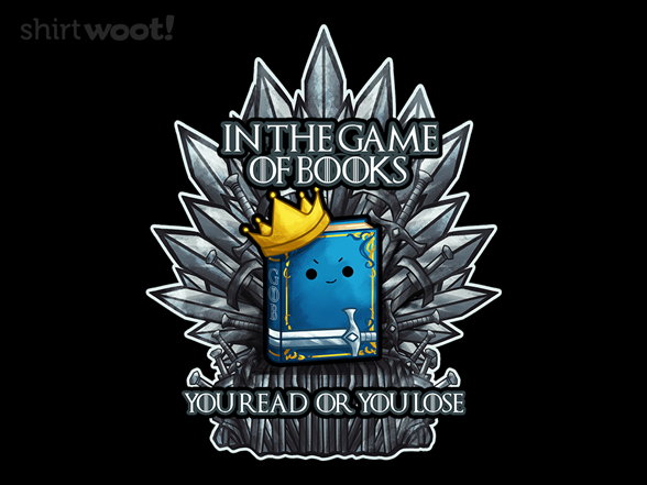 King Of Books T Shirt