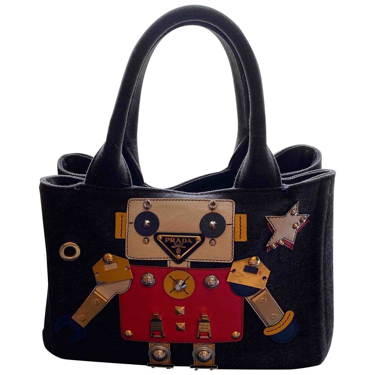 Prada \N Multicolour Denim - Jeans handbag for Women \N