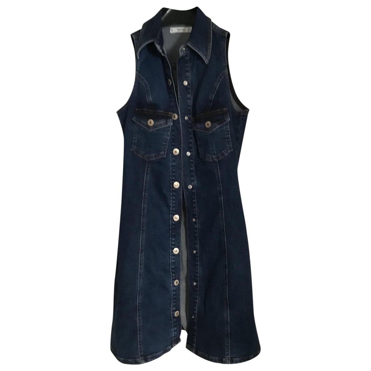 Mango \N Blue Denim - Jeans dress for Women S International