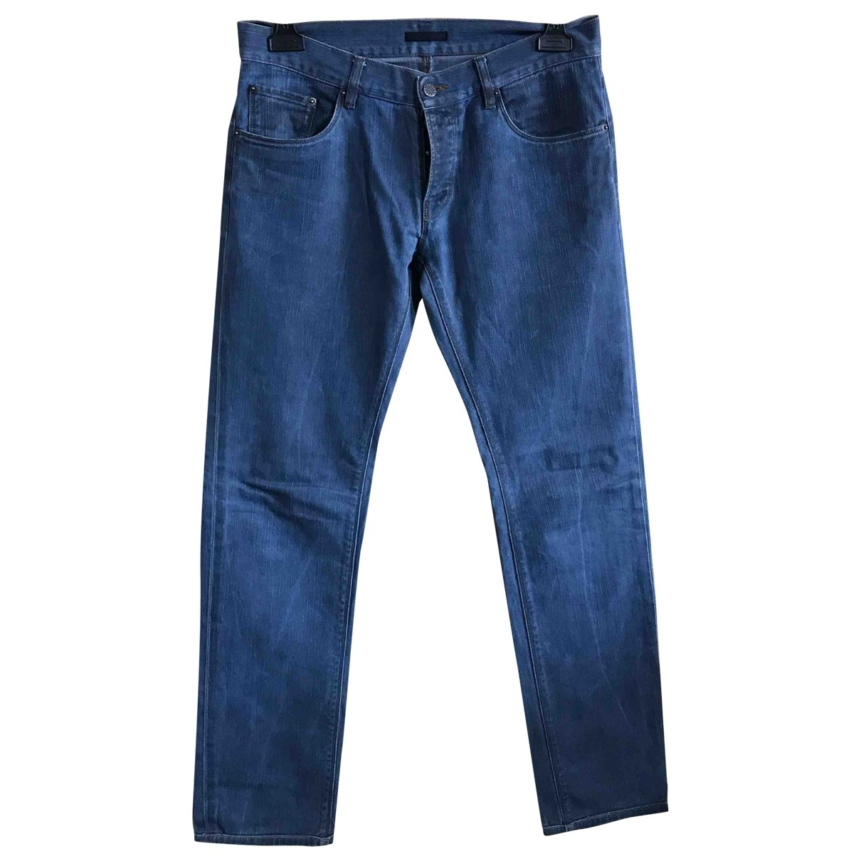 Prada \N Blue Denim - Jeans Trousers for Men 46 IT