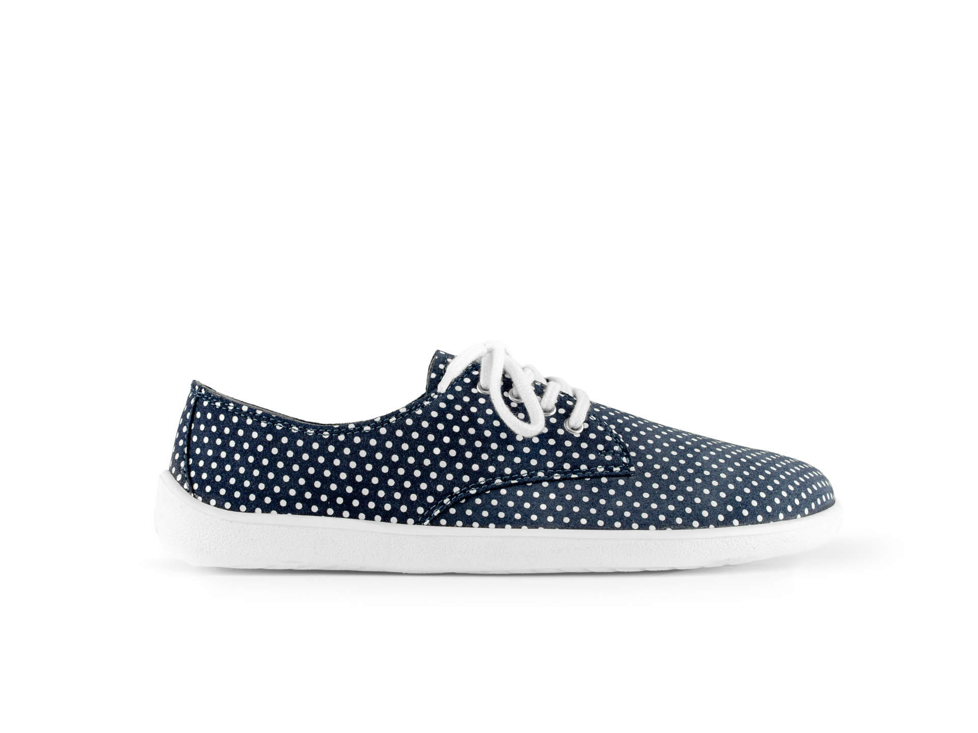 Barefoot Shoes - Be Lenka City - Dark Blue with White Dots 40