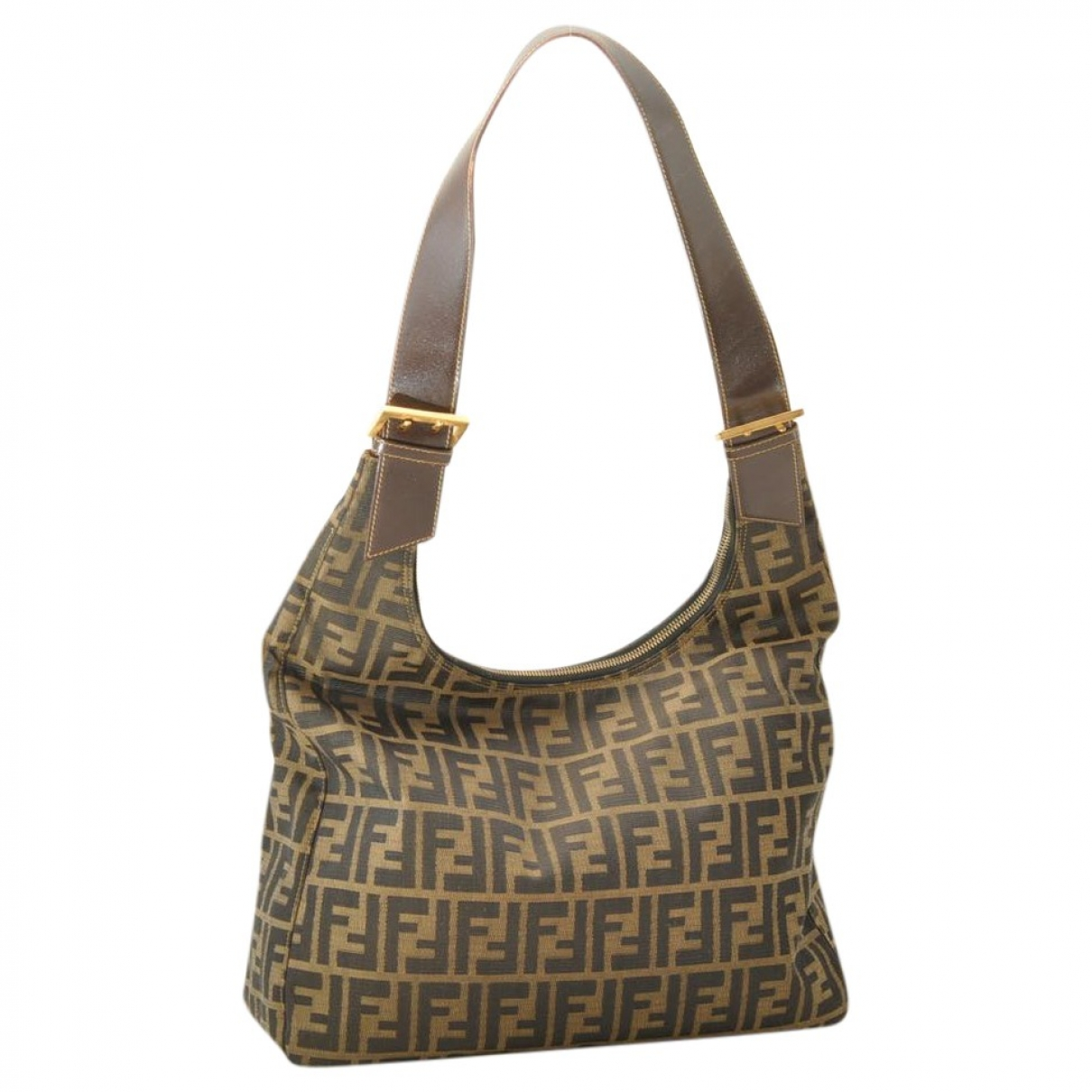 Fendi \N Black Cloth handbag for Women \N