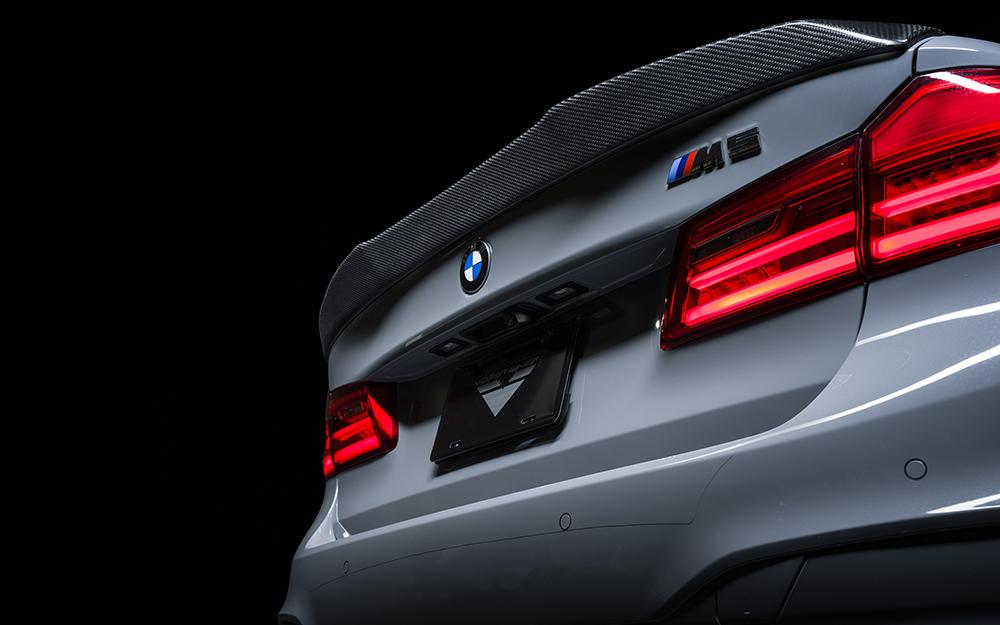 Vorsteiner 5260BMV VRS Aero Carbon Fiber Decklid Spoiler PP 1x1 Glossy BMW M5 F90 2018-2020