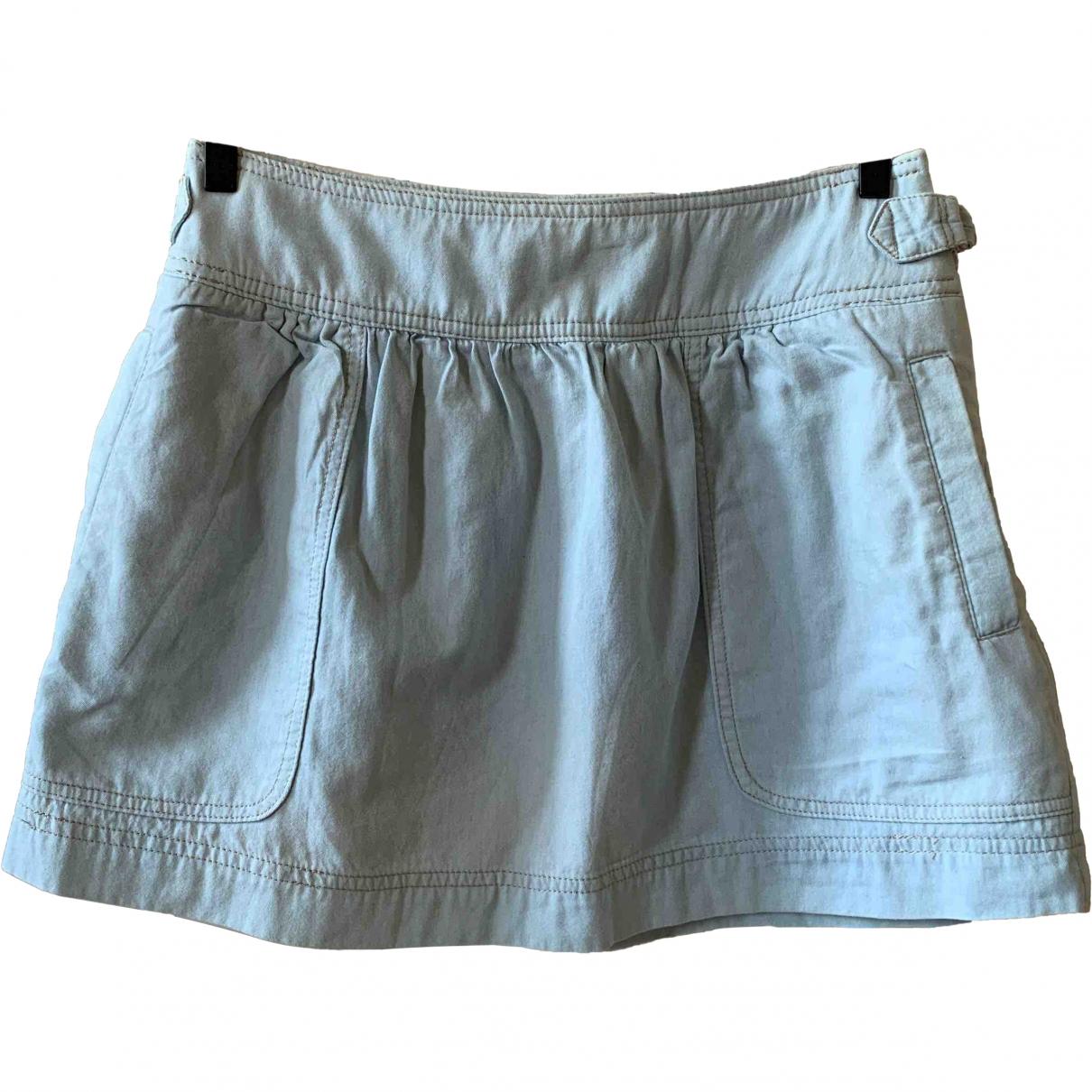 Vanessa Bruno Athe \N Blue Cotton skirt for Women 36 FR