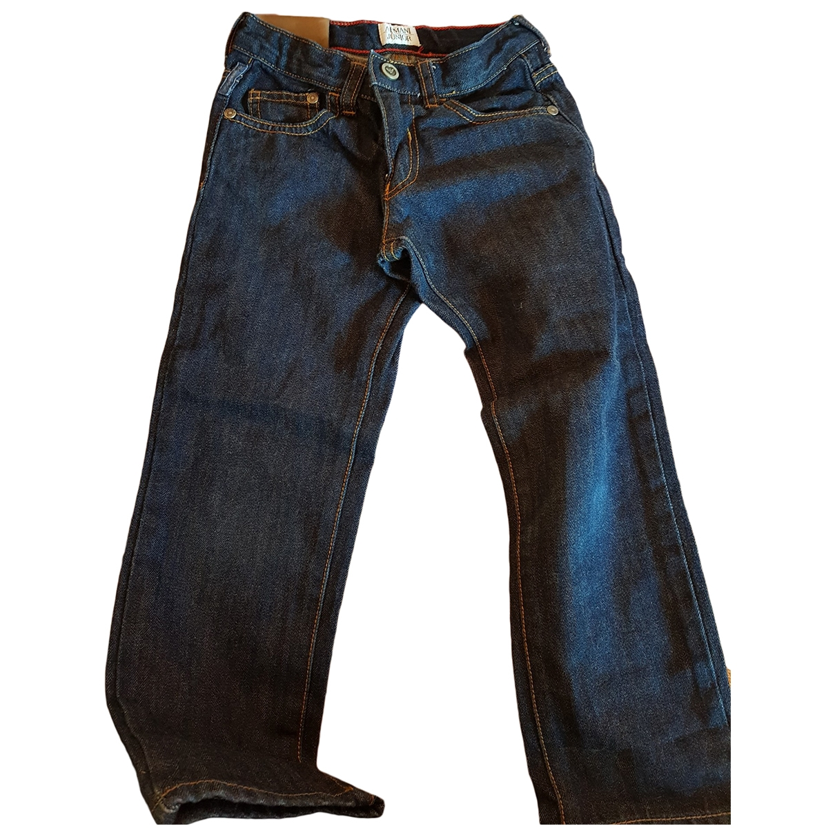 Armani Jeans \N Blue Denim - Jeans Trousers for Kids 5 years - up to 108cm FR