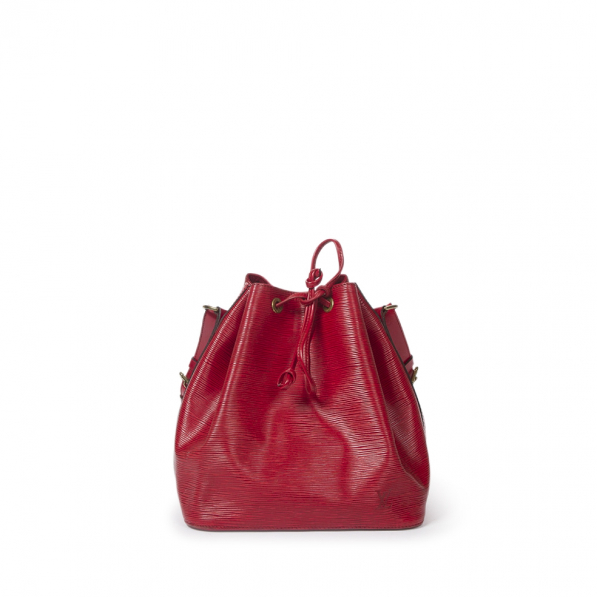 Louis Vuitton Noé Red Leather handbag for Women \N